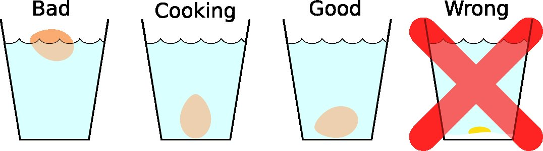4 egg positions